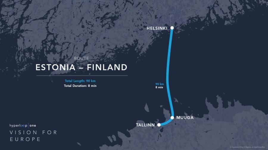 エストニアとフィンランドトンネル
